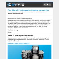 Digital Photography Review Newsletter: Thursday, September 3, 2020
