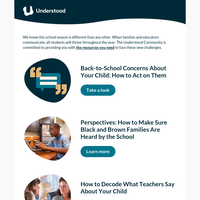 Back-to-School Support From Understood