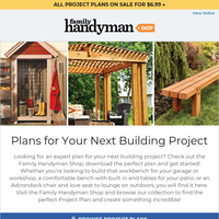 Must see! Download plans for your next project.