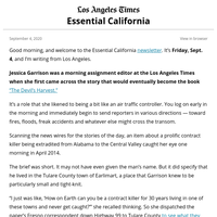 Essential California: A contract killer in the Central Valley