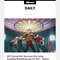 Will 'Dynamite' Become the Long-Awaited Breakthrough for BTS - And K-Pop - At Top 40 Radio?