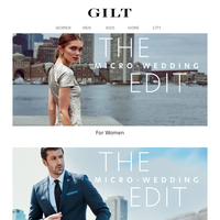 The Micro-Wedding Edit | Dolce & Gabbana: New Women's. Men's. Eyewear.