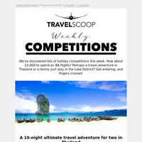 Weekly travel competitions round-up / September 5th