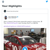 Aric Almirola Tweeted: She's a beaut! She'd look especially good in ...