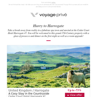 Harrogate, Santorini, Antalya, Sicily, Edinburgh & More, Up to -80%