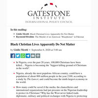 Black Christian Lives Apparently Do Not Matter