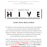Archive Extra: Back to School