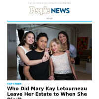 Who did Mary Kay Letourneau leave her estate to when she died?