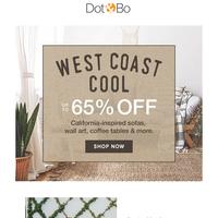 On Sale!  Big Sur & SoCal Beach Style