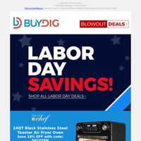Labor Day Savings | $39.90 for Home Security, LG OLED TVs, Garmin Fitness and More!