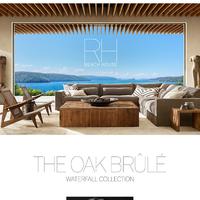 The Oak Brûlé Collection for RH Beach House