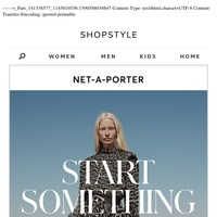 Style The New Season Your Way With NET-A-PORTER