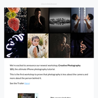 NEW: Creative Photography 101 (Special Launch Discount!)