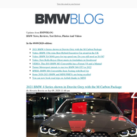 Posts from BMWBLOG for 09/09/2020