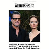 Angelina Jolie Is Reportedly 'Furious' That Brad Pitt Brought New Girlfriend To Their Wedding Venue