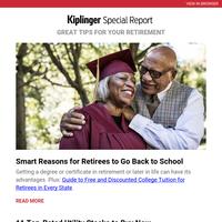 Retirees, Go Back to School