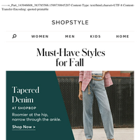6 Must-Have Fall Styles