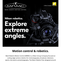 Nikon Robotics Solutions for Photography and Broadcast