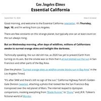 Essential California: Life on Mars?