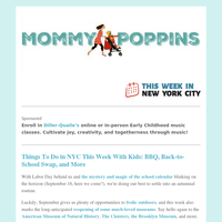Things To Do in NYC This Week With Kids: BBQ, Back-to-School Swap, and More