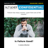 Is Failure Good?