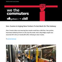 Cuomo: 'Try Public Transportation'