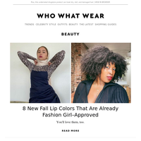 8 new fall lip colors that are already fashion girl–approved