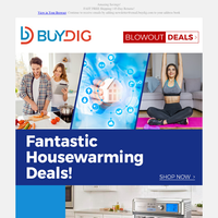 🏡Housewarming Deals: Smart Home, Kitchen, TVs, Fitness, Outdoor Cooking and More!