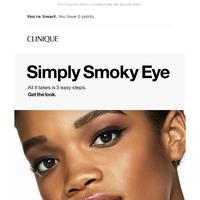 Smoky eye, easy as 1-2-3.