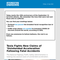 Tesla denies claims of unintended acceleration accidents