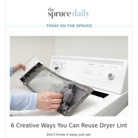 6 Creative Ways You Can Reuse Dryer Lint