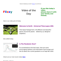 ★ Video of the Day & Quote of the Day - by Flixxy.com - Welcome to Earth - Universal Time-Lapse (HD)