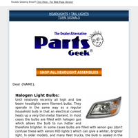 Upgrade Time - DIY Headlight Replacement Part Options