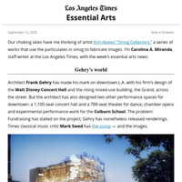 Essential Arts: Frank Gehry's downtown designs