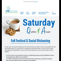 ☕️ CTA's Saturday Q & A
