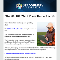 The $4,000 Work-From-Home Secret