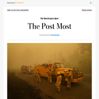The Post Most: Dense smoke smothers Pacific Northwest, shutting residents indoors and complicating fire response