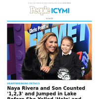 Naya Rivera and son counted '1,2,3' and jumped in lake before she yelled 'help' and drowned
