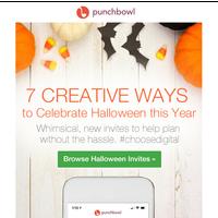 7 Creative Ways to Celebrate Halloween this Year