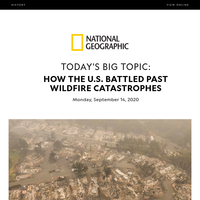 HISTORY: How the U.S. battled catastrophic wildfires—and on-the-ground hindrances