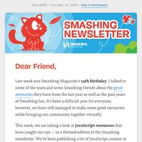 Smashing Newsletter #266: JavaScript Edition