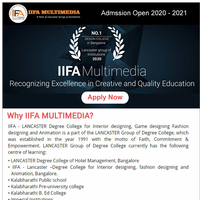 ADMISSION OPEN FOR DESIGN, FASHION, ANIMATION AND MULTIMEDIA || Apply Now