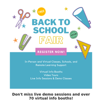 🌈Free Online Demo Classes and Back To School Fair Registration Open