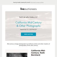 Keith de Lellis Gallery LLC   California Mid-Century & Other Photographs