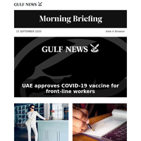 UAE approves COVID-19 vaccine for front-line workers