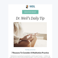 7 Reasons To Consider A Meditation Practice