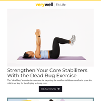 Strengthen Your Core Stabilizers With the Dead Bug Exercise