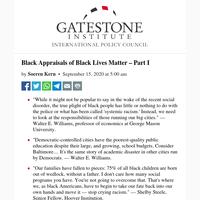 Black Appraisals of Black Lives Matter – Part I
