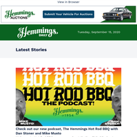 Hemmings Daily: Check out our new podcast, The Hemmings Hot Rod BBQ
