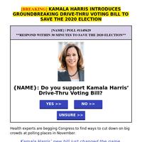 Senator Kamala Harris' bill just changed everything